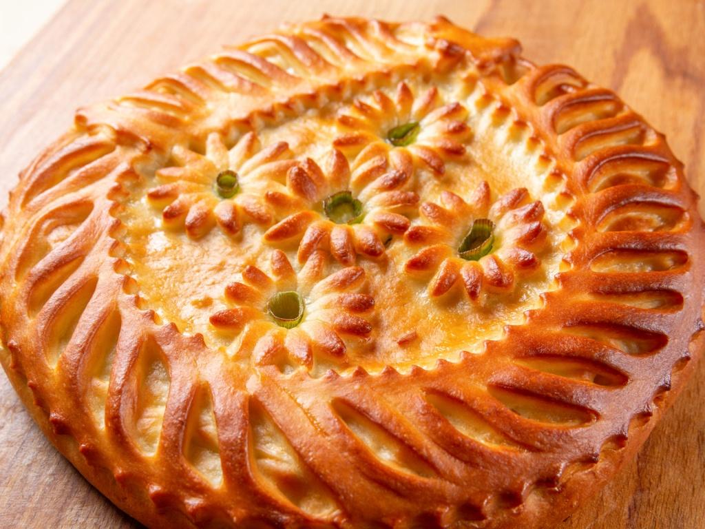 чем мажут пирожки для золотистой