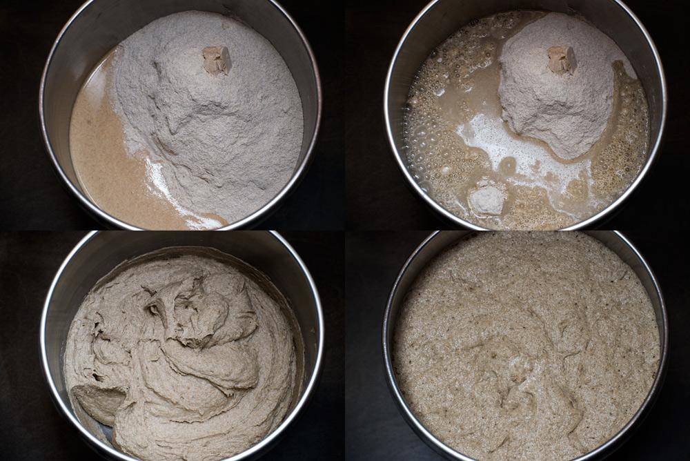 пышное тесто для булочек на сухих дрожжах
