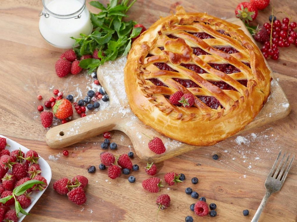 Пироги в картинках